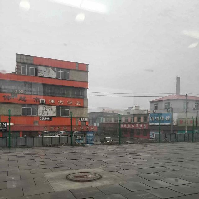 Zwischen Shenyang und Dandong ist nicht viel los
